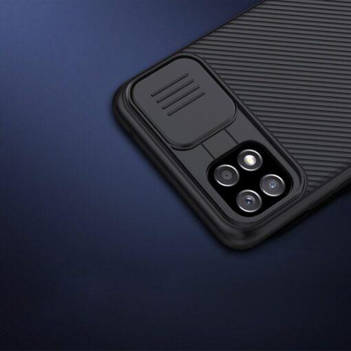 Samsung A22 5G umbris Nillkin Camshield plastikust must 13