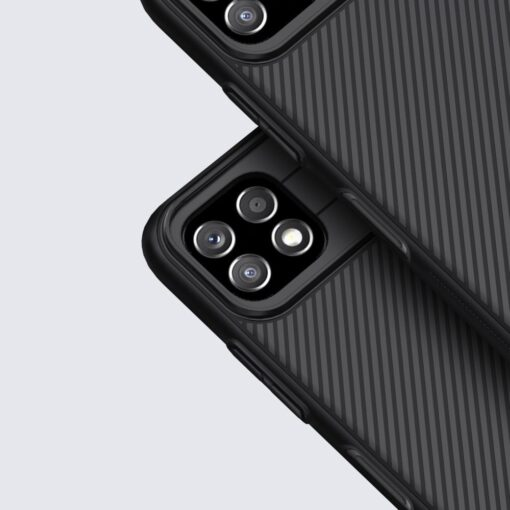 Samsung A22 5G umbris Nillkin Camshield plastikust must 6