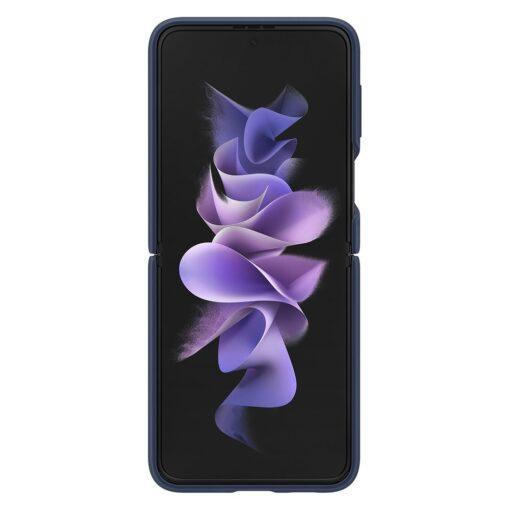 Samsung Galaxy Z Flip 3 5G silikoonumbris aasaga sinine EF PF711TNEGWW 1