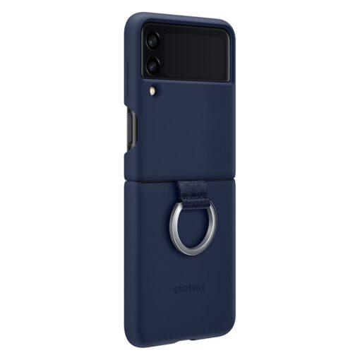 Samsung Galaxy Z Flip 3 5G silikoonumbris aasaga sinine EF PF711TNEGWW 2