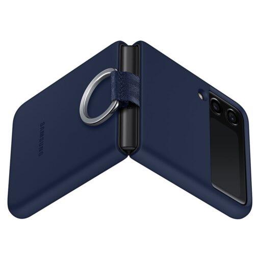 Samsung Galaxy Z Flip 3 5G silikoonumbris aasaga sinine EF PF711TNEGWW 3