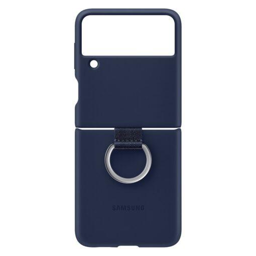 Samsung Galaxy Z Flip 3 5G silikoonumbris aasaga sinine EF PF711TNEGWW 4