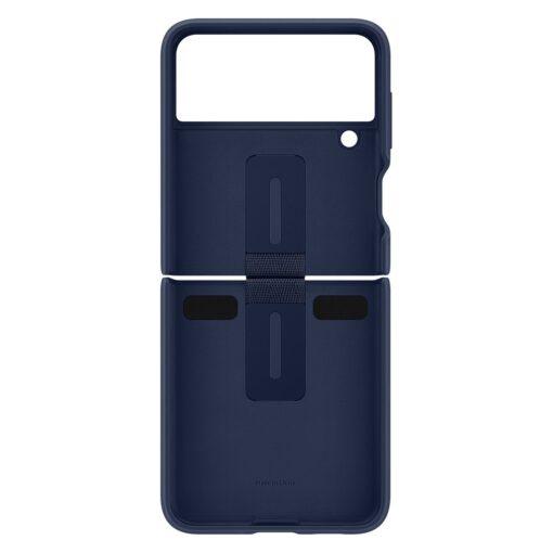 Samsung Galaxy Z Flip 3 5G silikoonumbris aasaga sinine EF PF711TNEGWW 5