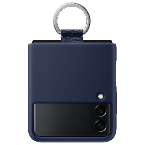 Samsung Galaxy Z Flip 3 5G silikoonumbris aasaga sinine EF PF711TNEGWW 6
