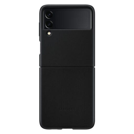 Samsung Galaxy Z Flip 3 5G umbris nahast must EF VF711LBEGWW 1