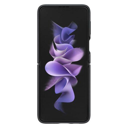 Samsung Galaxy Z Flip 3 5G umbris nahast must EF VF711LBEGWW 2