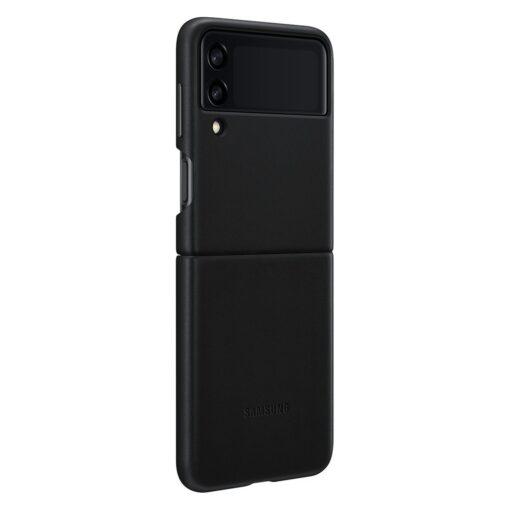 Samsung Galaxy Z Flip 3 5G umbris nahast must EF VF711LBEGWW 3