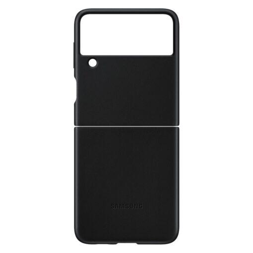 Samsung Galaxy Z Flip 3 5G umbris nahast must EF VF711LBEGWW 5