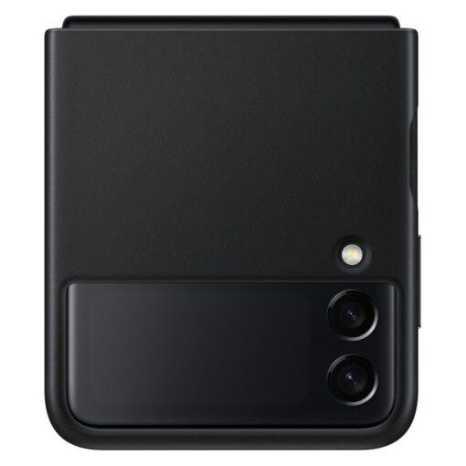 Samsung Galaxy Z Flip 3 5G umbris nahast must EF VF711LBEGWW 7