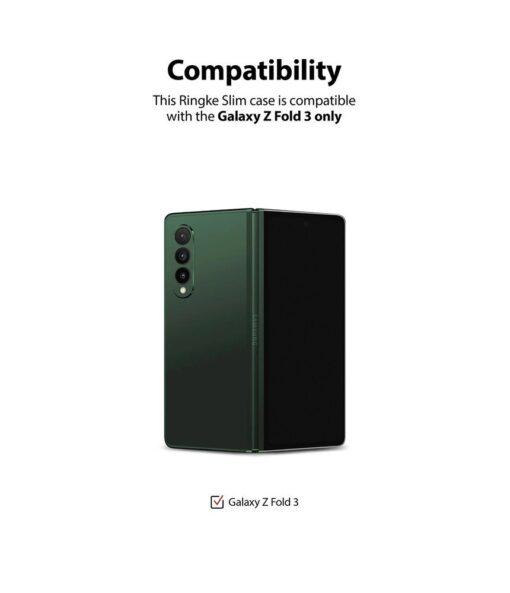 Samsung Galaxy Z Fold 3 Ringke plastikust kaaned labipaistev 10