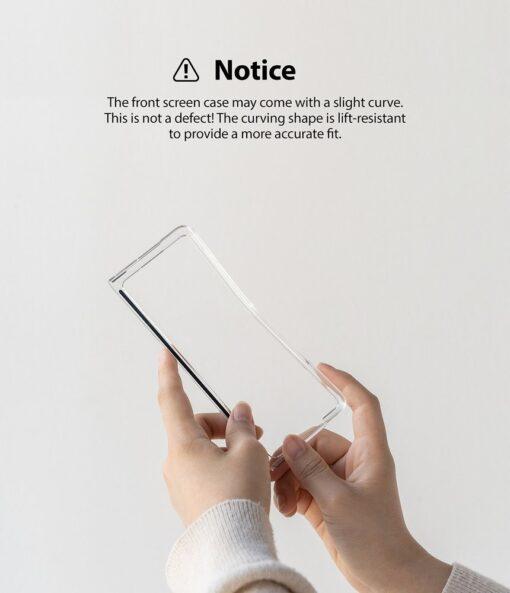 Samsung Galaxy Z Fold 3 Ringke plastikust kaaned labipaistev 11