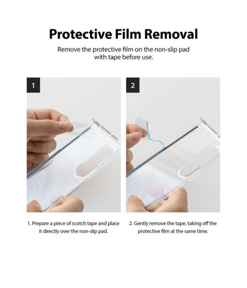Samsung Galaxy Z Fold 3 Ringke plastikust kaaned labipaistev 12