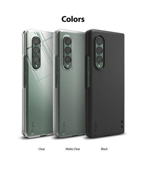 Samsung Galaxy Z Fold 3 Ringke plastikust kaaned labipaistev 13