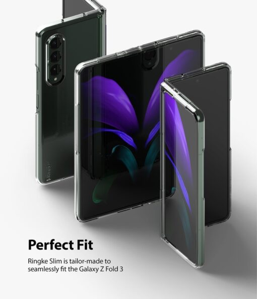 Samsung Galaxy Z Fold 3 Ringke plastikust kaaned labipaistev 3