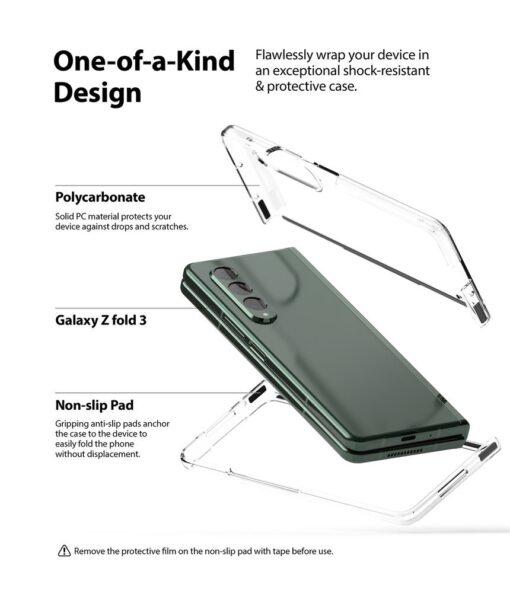 Samsung Galaxy Z Fold 3 Ringke plastikust kaaned labipaistev 5
