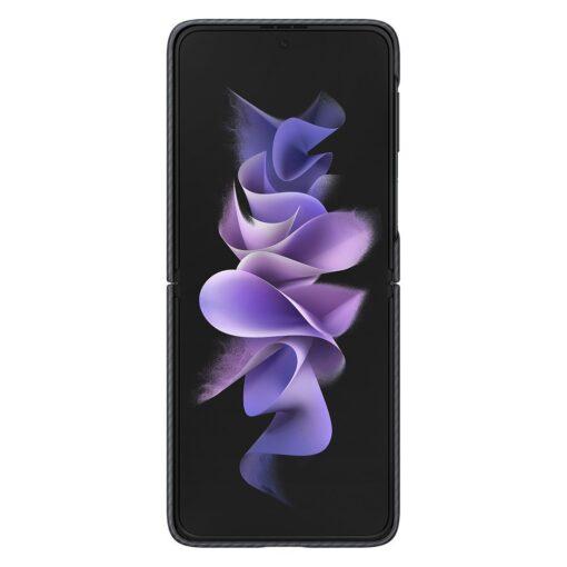 Samsung Galazy Z Flip 3 Aramid Cover kaaned must EF XF711SBEGWW 2