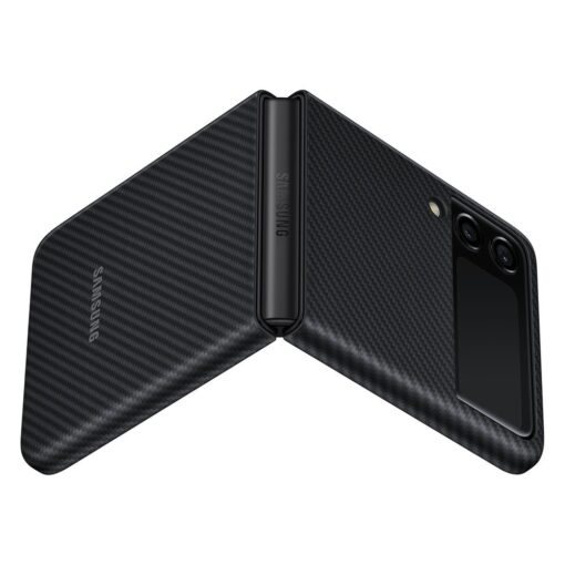Samsung Galazy Z Flip 3 Aramid Cover kaaned must EF XF711SBEGWW 4