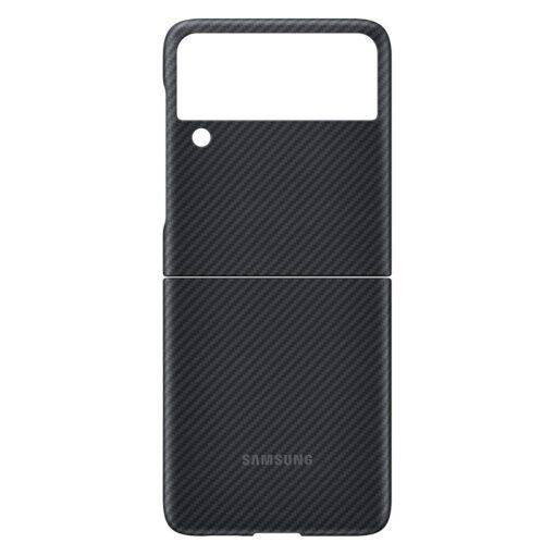 Samsung Galazy Z Flip 3 Aramid Cover kaaned must EF XF711SBEGWW 5