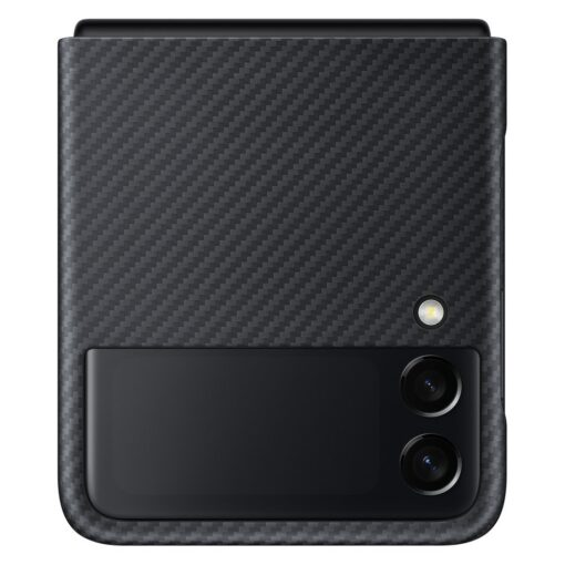 Samsung Galazy Z Flip 3 Aramid Cover kaaned must EF XF711SBEGWW 7