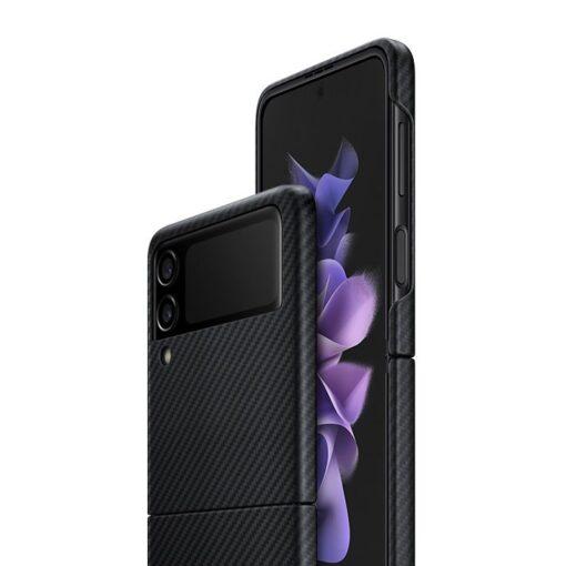 Samsung Galazy Z Flip 3 Aramid Cover kaaned must EF XF711SBEGWW 8