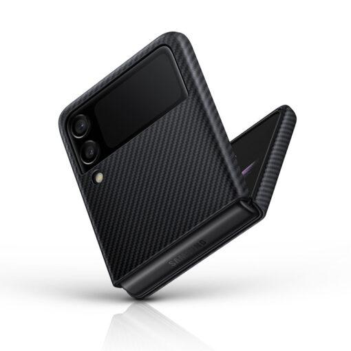 Samsung Galazy Z Flip 3 Aramid Cover kaaned must EF XF711SBEGWW 9