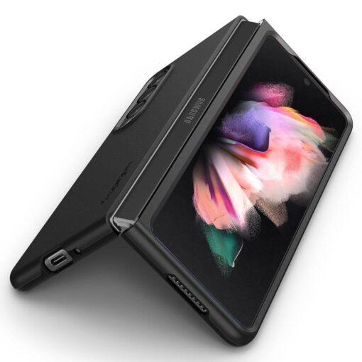 Samsung Galazy Z Fold 3 kaaned Spigen plastikust must 7