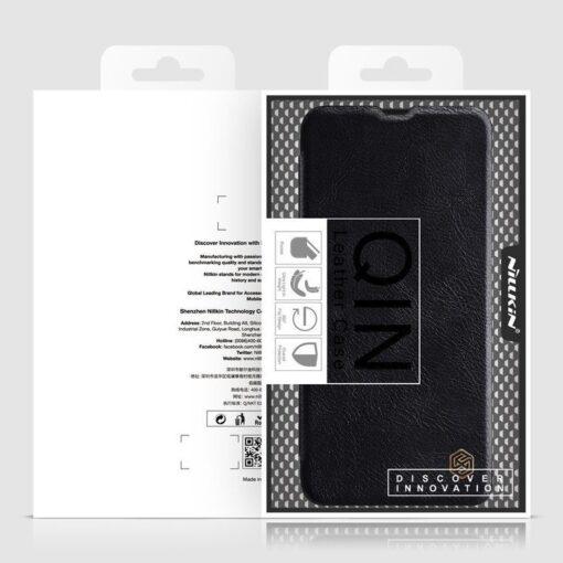 Samsung S21 PLUS kaaned Nillkin Qin nahast pruun 11