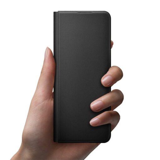 Samsung Z Fold 3 Leather Flip umbris Samsung must EF FF926LBEGWW 1