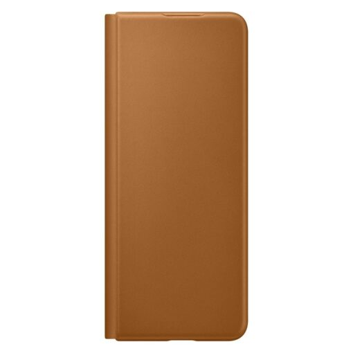 Samsung Z Fold 3 Leather Flip umbris Samsung pruun EF FF926LAEGWW 7
