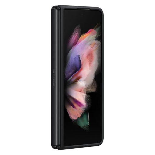 Samsung Z Fold 3 silikoonist umbris Samsung must EF PF926TBEGWW 1