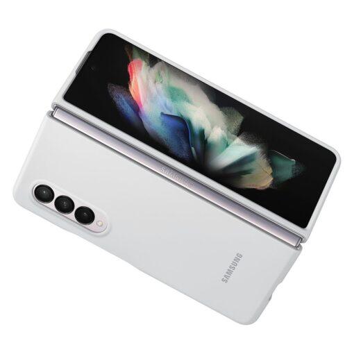 Samsung Z Fold 3 silikoonist umbris Samsung valge EF PF926TWEGWW 3