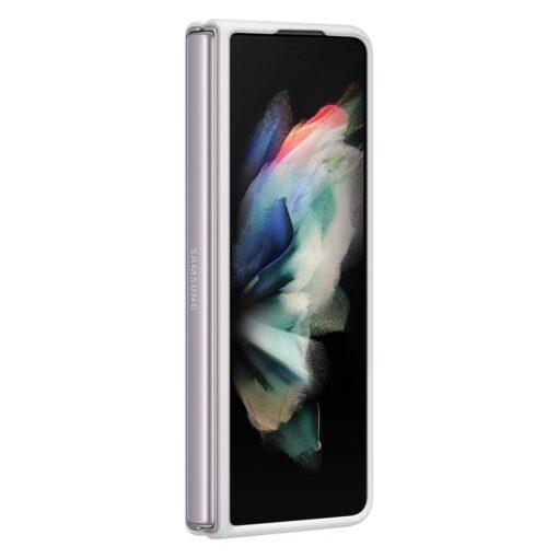 Samsung Z Fold 3 silikoonist umbris Samsung valge EF PF926TWEGWW