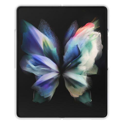 Samsung Z Fold 3 silikoonist umbris Samsung valge EF PF926TWEGWW 9