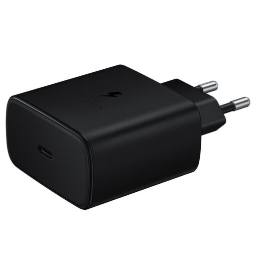 Samsungi seinalaadija komplekt 45W USB C must EP TA845XBEGWW 1
