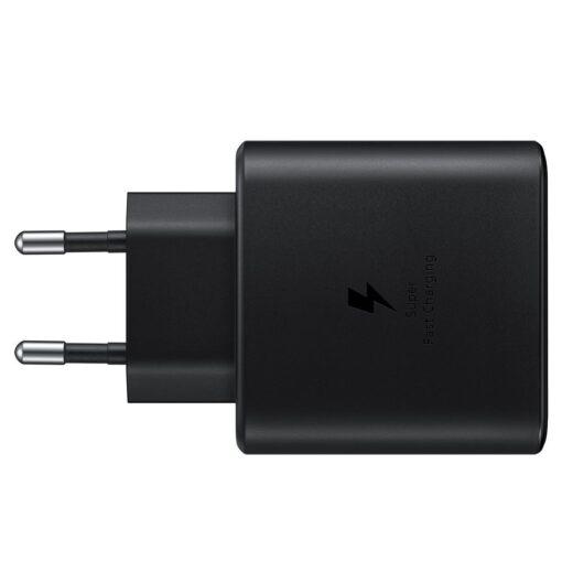 Samsungi seinalaadija komplekt 45W USB C must EP TA845XBEGWW 2