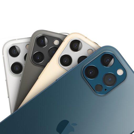 iPhone 12 Pro Max kaamera kaitse Ringke sinine 5