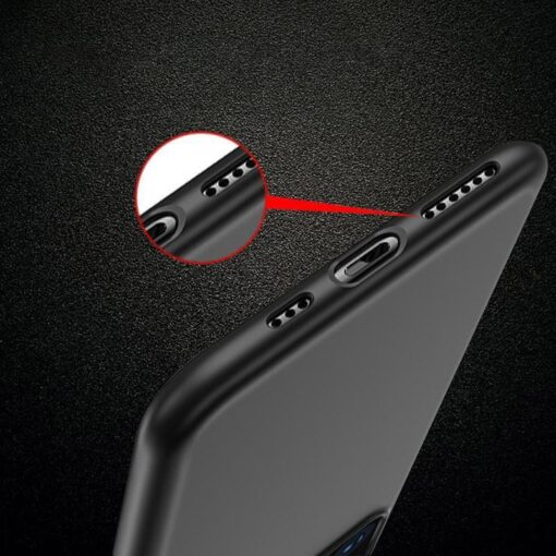 iPhone 12 Pro Max matt silikoonist umbris must 6