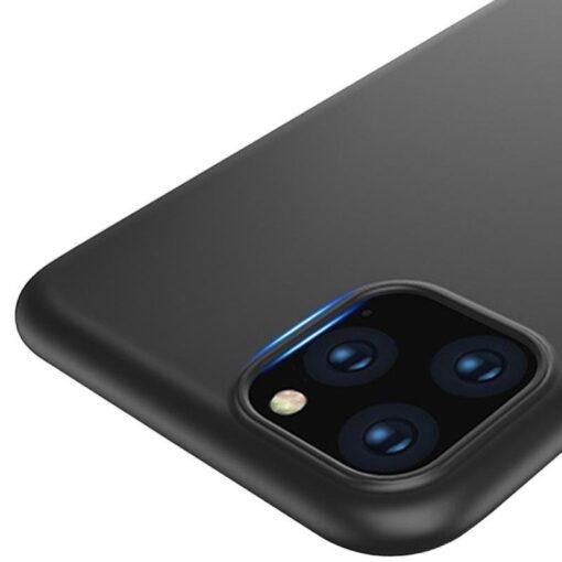 iPhone 12 mini matt silikoonist umbris must 1